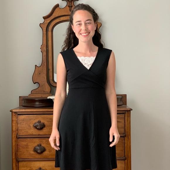 LOFT Dresses & Skirts - LOFT Black Stretch Dress, Size 0P